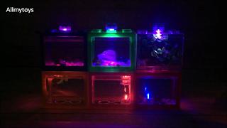 Lego Brick Shape Aquarium Tanks 5