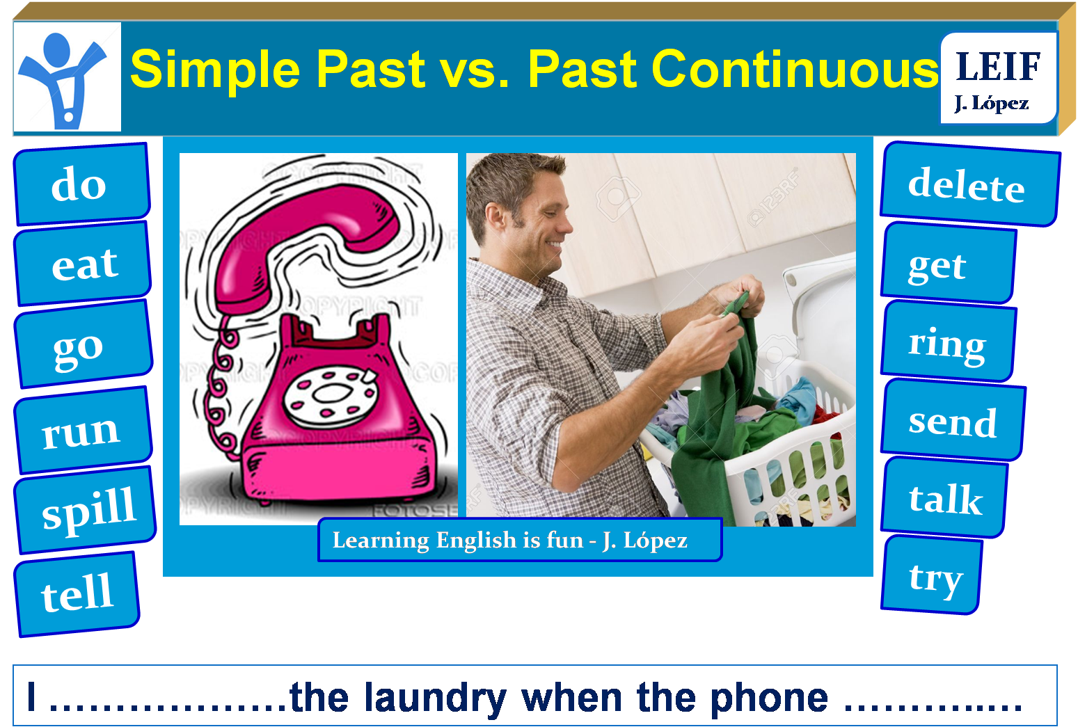 basic english ii  u9  simple past vs past continuous