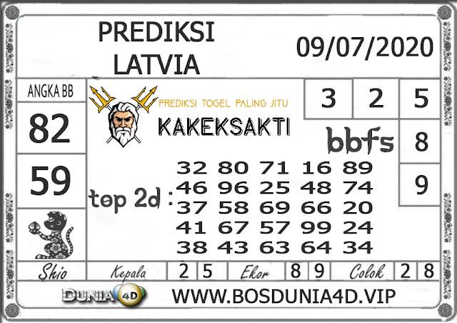 Prediksi Togel LATVIA DUNIA4D 09 JULI 2020