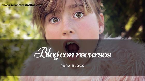Si necesitas encontrar recursos para blogs, aqui tienes unas páginas muy chulas.