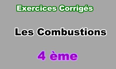 Exercices Corrigés Sur Les Combustions 4eme en PDF
