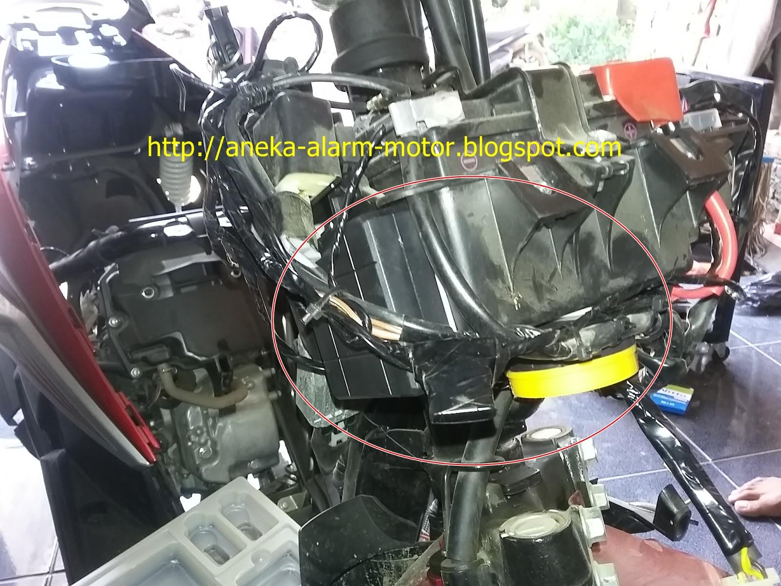 Aneka Alarm Motor: Cara pasang alarm motor remote pada ...