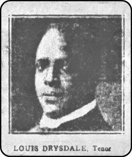 Louis 'Dri' Drydale tenor
