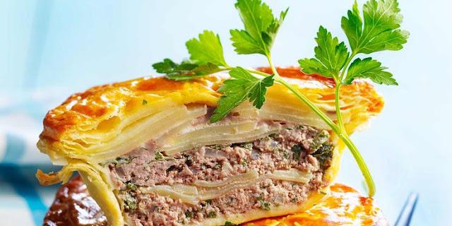 recette Pâté de pommes de terre à la viande hachée