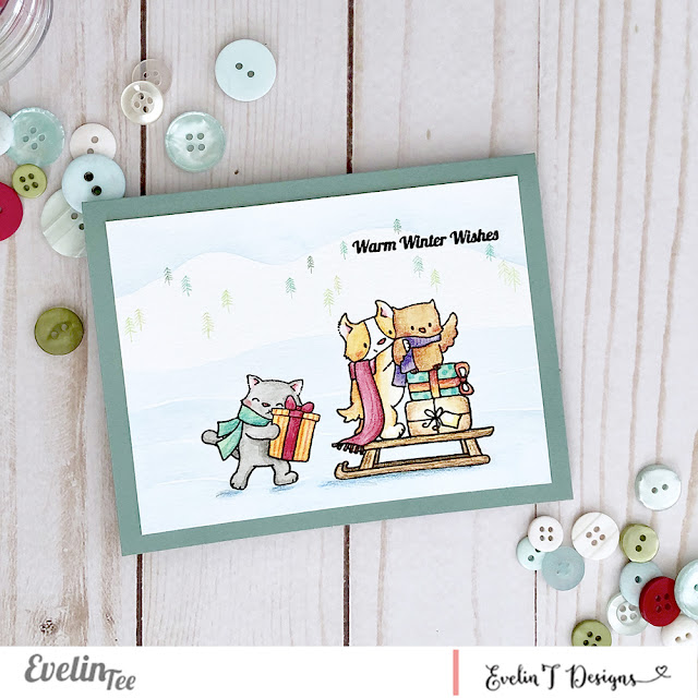 Sample card - Warm winter wishes