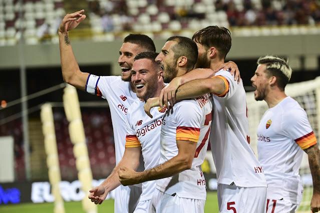 ملخص واهداف مباراة روما وساليرنيتانا (4-0) الدوري الإيطالي