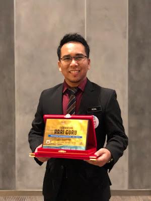Guru Adiwira Perak  Cikgu Mohd Rizal bin Sadiman  SMK Alor Pongsu, Perak
