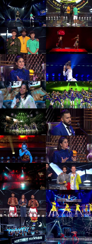 Screenshots Of Hindi Show Dance India Dance Battle of the Champions Season 7 7th July 2019 Episode 06 300MB 480P HD