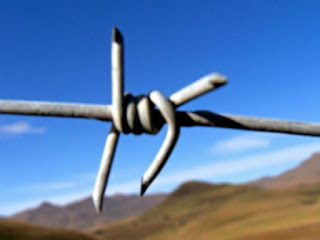 To be specific, Boundaries, Barbed wire, Limits