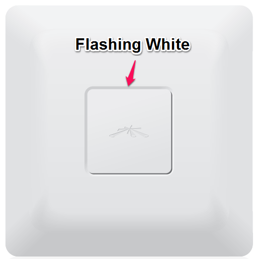 How to fix UniFi AP AC flashing white and getting stuck in a