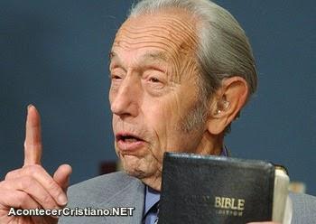Harold Camping enseñando la Biblia