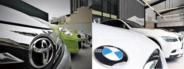 國產車、進口車,高雄乙鈞汽車都有,滿足顧客購買各類型中古車款的需求。