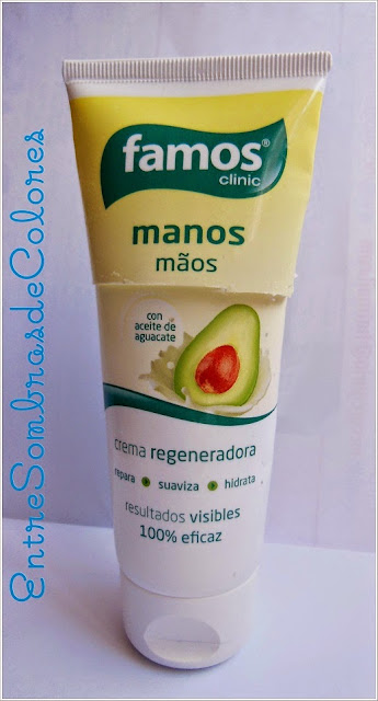 crema manos Famos clinic