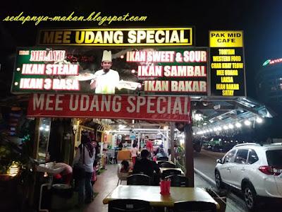 Restoran Pak Mid Cafe, Batu Ferringhi