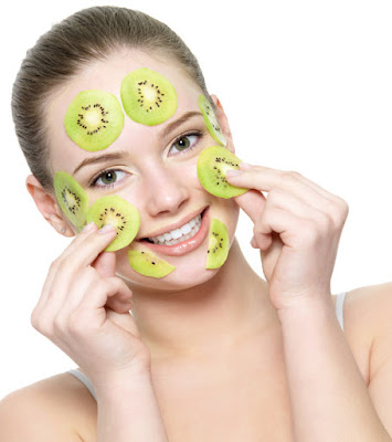 kiwi helps you for a beautiful face