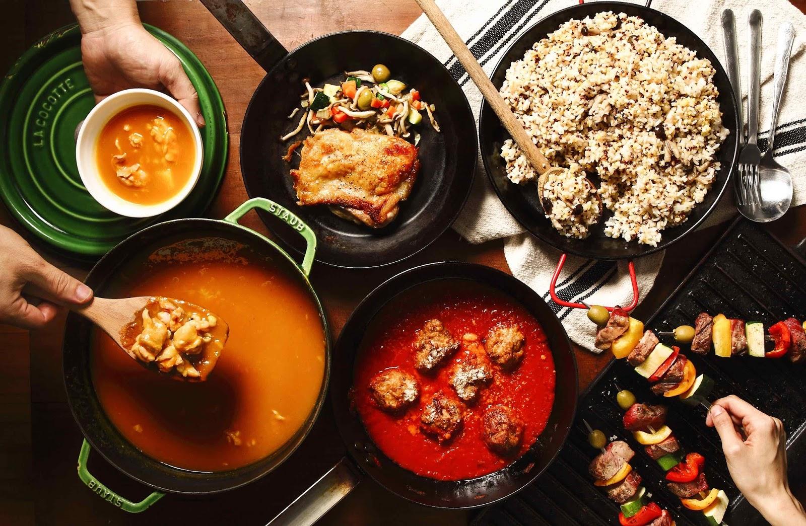 好吃企劃|掌握原理與原則,美味又實用的鑄鐵鍋料理提案 (附紅醬起司肉丸食譜)