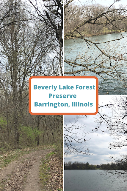 Serene Lake Views and Rolling Trails at Beverly Lake in Barrington, Illinois