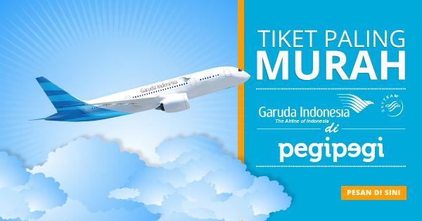 Cara Mendapatkan Harga Tiket Pesawat Garuda Termurah