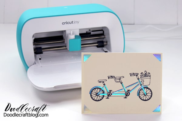 Cricut Joy how to use the card making mat to create insert cards in minutes