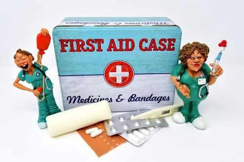 FIRST-AID treatment for injuries that can happen at home