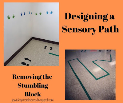 Designing a sensory path; Removing the Stumbling Block