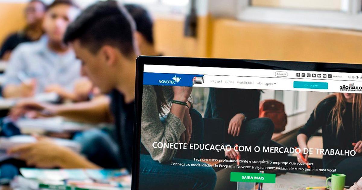 São Carlos e outras dez cidades da região tem vagas em cursos do Novotec