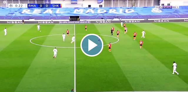 Real Madrid vs Shakhtar Donetsk Live Score