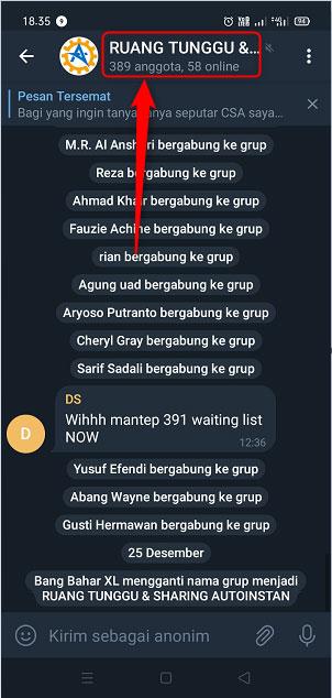 Cara Menambahkan Anggota Ke Grup Telegram 1
