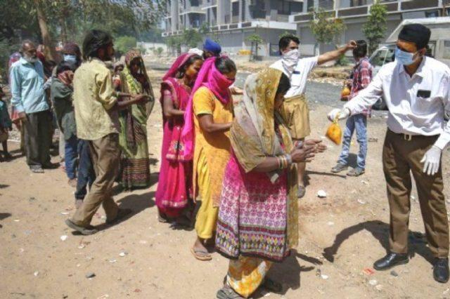 ఉత్తమ ఎన్జీవో గా ఎంపికైన రాష్ట్రీయ సేవా భారతి - Rashtriya Seva Bharati selected as India's best NGO that extended timely help to migrants during Covid-19 crisis