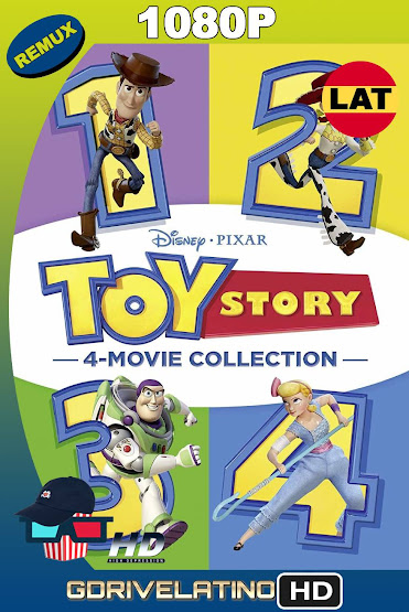 Toy Story (1995-2019) Colección BDRemux 1080p Latino-Ingles MKV