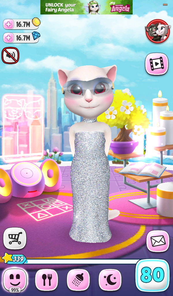 my talking angela hacked apk download | Lift For The 22