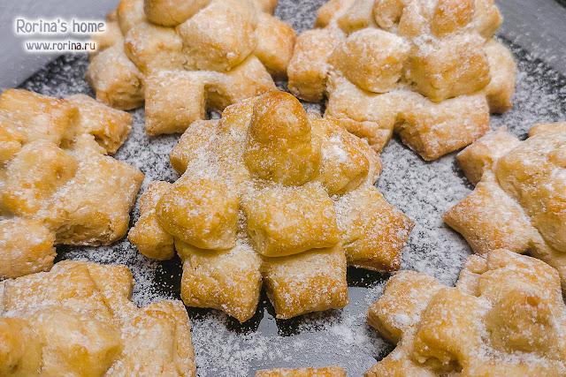 Печенье хризантема, как сделать