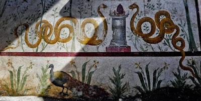 """Ένας """"μαγικός κήπος"""" βρέθηκε στην Πομπηία"""