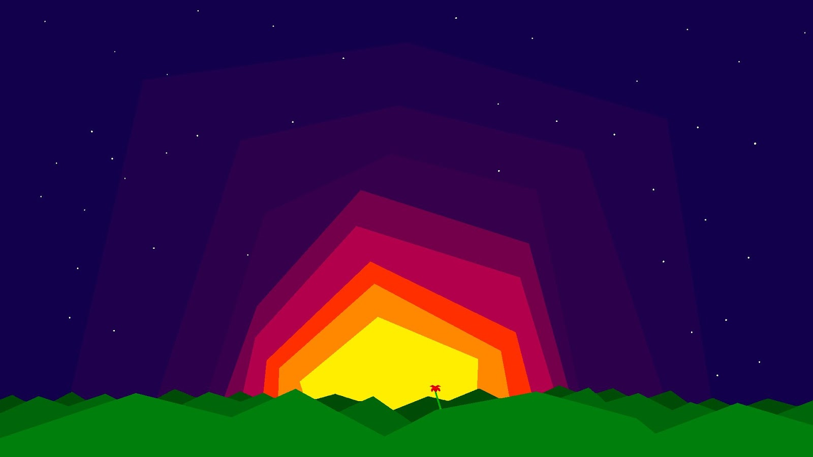 8 bit colorful wallppaper