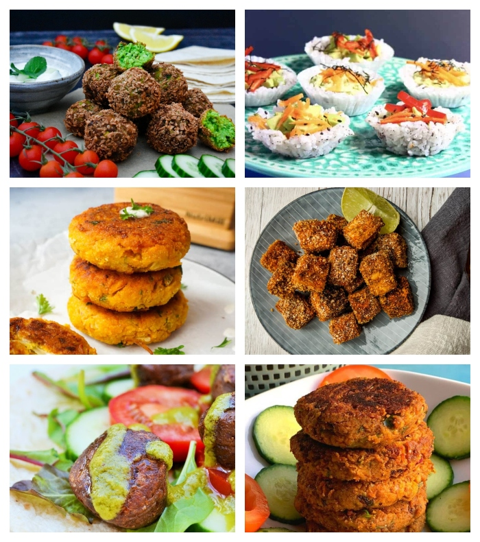 Vegan Savoury Bites