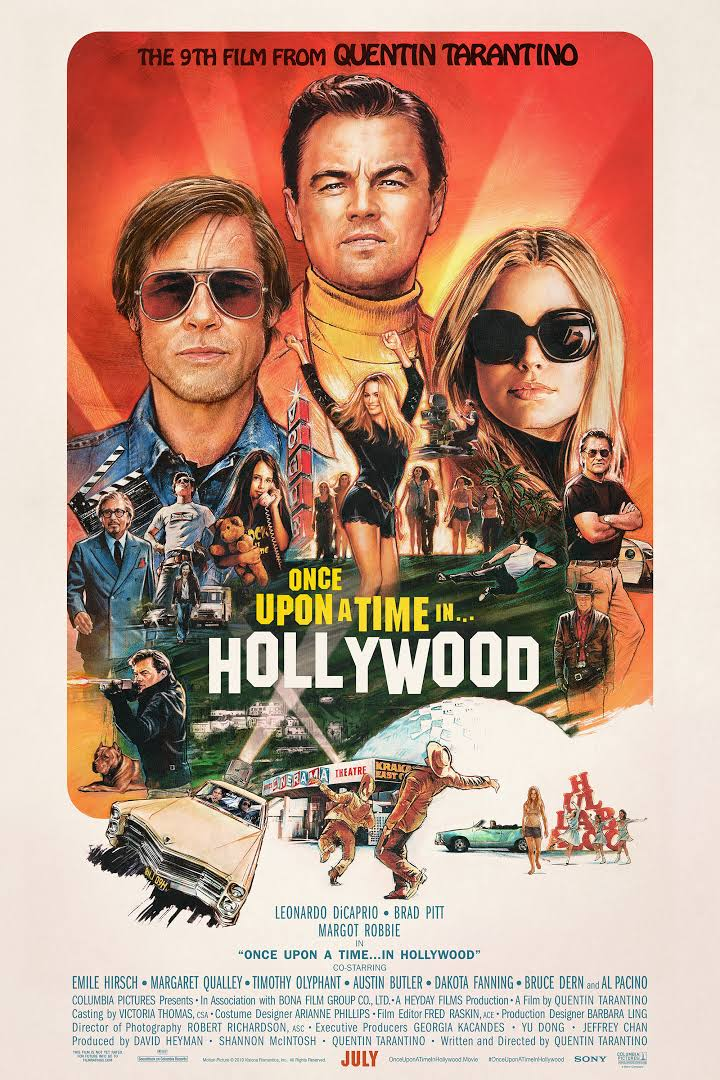 Once Upon a Time in Hollywood 2019 400MB BRRip