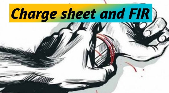 Difference Between FIR and Charge sheet