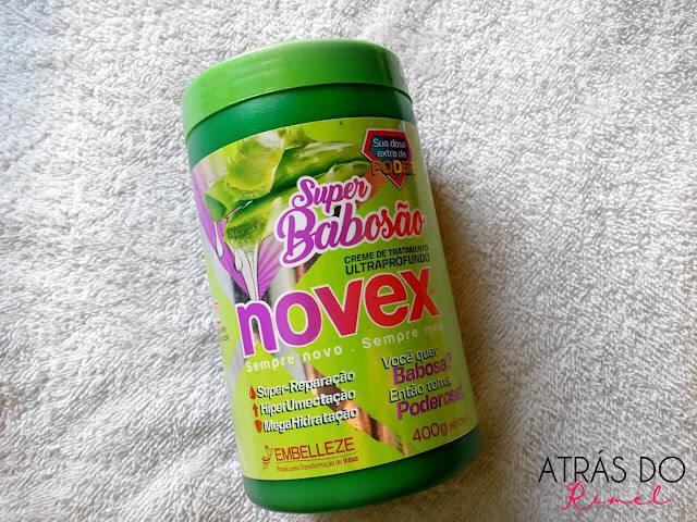 Resenha: Novex Super Babosão da Embelleze