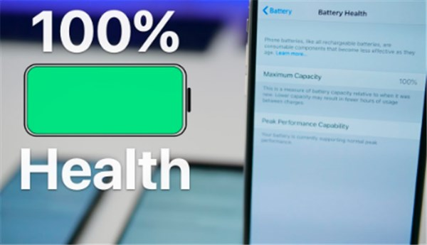 iphone battery health check