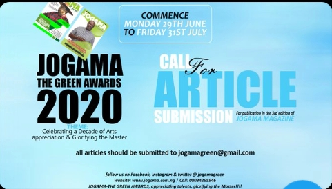 JOGAMA Magazine (3rd Edition): Call for article submission