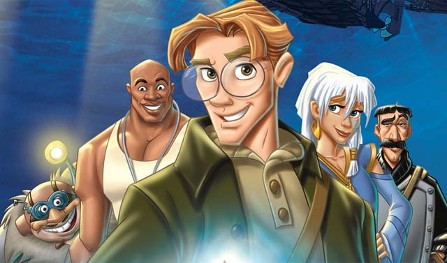 Main characters Atlantis: The Lost Empire 2001 animatedfilmreviews.filminspector.com