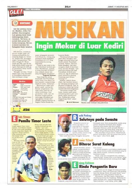 BINTANG LIGA INDONESIA MUSIKAN