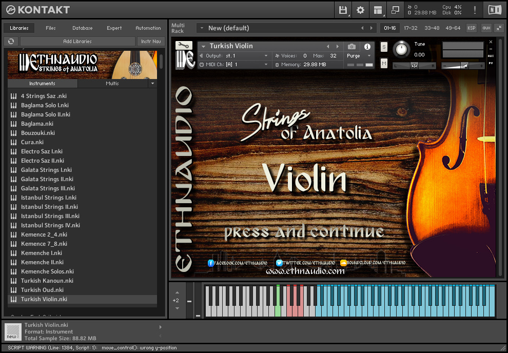 Strings Of Anatolia FREE DOWNLOAD
