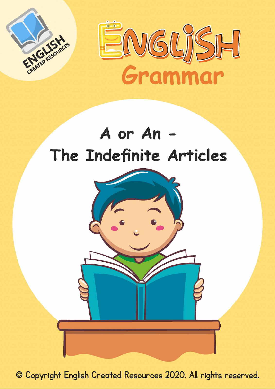 English Grammar A Or An Worksheets