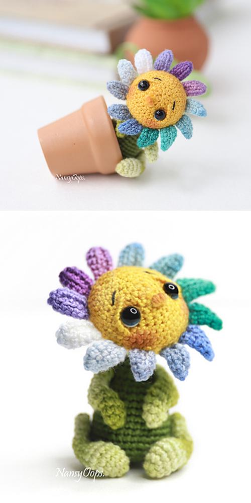Little Flower - Free Crochet Pattern