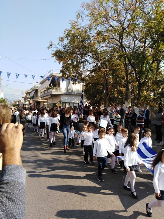 Η παρέλαση της 28ης Οκτωβρίου σε Καστέλλα και Ψαχνά (φωτό) 73372332 518445498712856 6458767537642405888 n