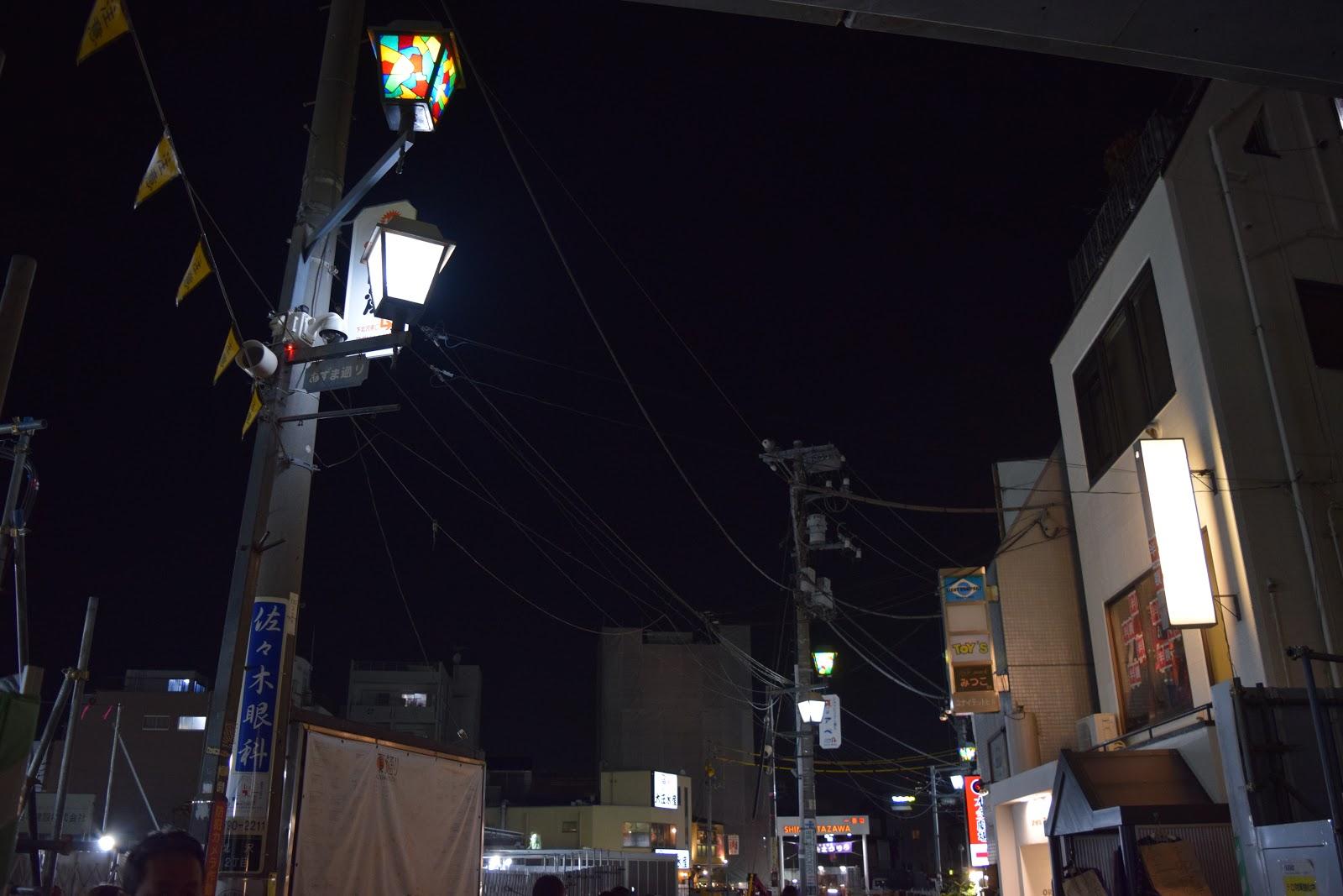 Ichiban gai sign in the background- Shimokitazawa station area