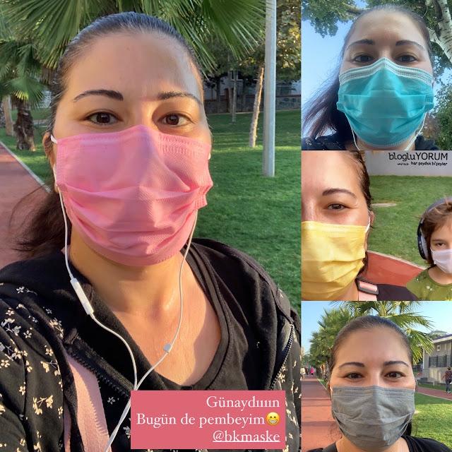 bk maske kullananlar