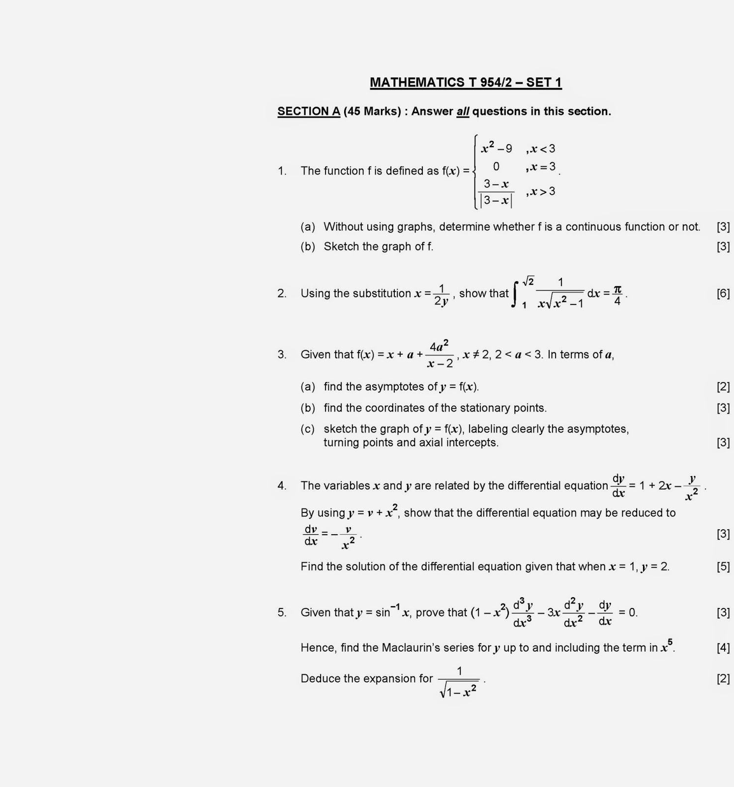 stpm 954 math t coursework 2014