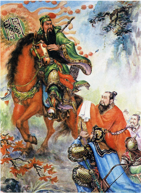 Chapter 26 : Yuan Shao Loses Another Leader; Guan Yu Abandons Rank And Wealth.